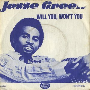 JESSE GREEN / Will You, Won't You [7INCH]
