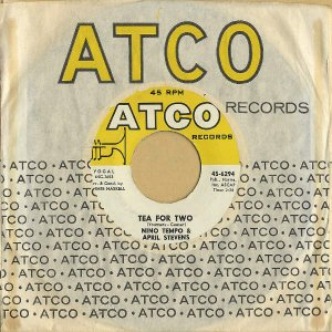 NINO TEMPO AND APRIL STEVENS / Tea For Two [7INCH]