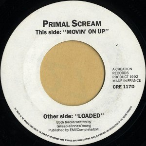 PRIMAL SCREAM / Movin' On Up [7INCH]