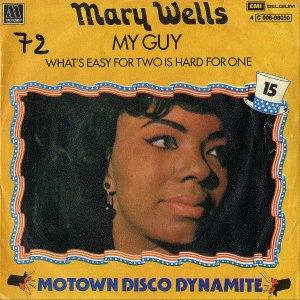 MARY WELLS / My Guys [7INCH]