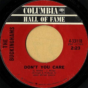 THE BUCKINGHAMS / Don't You Care [7INCH]