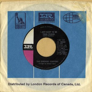 THE SUNSHINE COMPANY / I Just Want To Be Your Friend [7INCH]