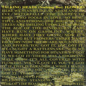 TALKING HEADS / (Nothing But) Flowers [7INCH]