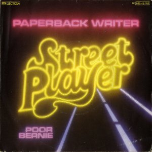 STREET PLAYER / Paperback Writer [7INCH]