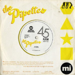 THE PIPETTES / Pull Shapes [7INCH]