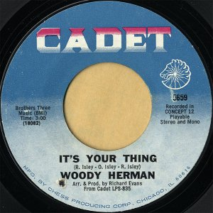 WOODY HERMAN / It's Your Thing [7INCH]