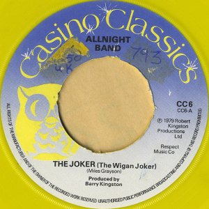 ALLNIGHT BAND / The Joker (The Wigan Jacket) [7INCH]
