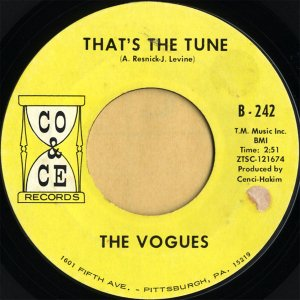 THE VOGUES / That's The Tune [7INCH]