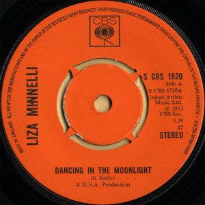 LIZA MINNELLI / Dancing In The Moonlight [7INCH]