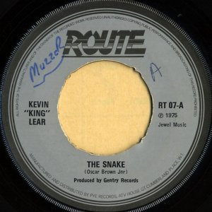 KEVIN KING LEAR / The Snake [7INCH]