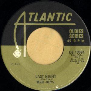 MAR-KEYS / Last Night [7INCH]