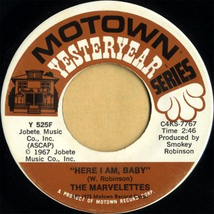 THE MARVELETTES / Here I Am, Baby [7INCH]