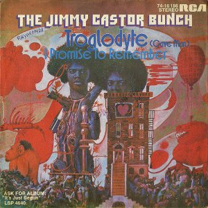 THE JIMMY CASTOR BUNCH / Troglodyte (Cave Man) [7INCH]