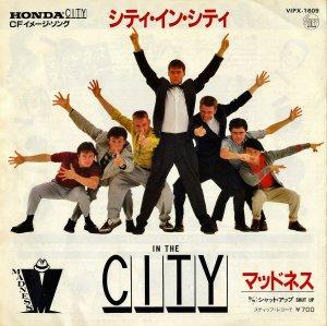 マッドネス MADNESS / イン・ザ・シティ In The City [7INCH]
