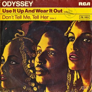 ODYSSEY / Don't Tell Me, Tell Her [7INCH]
