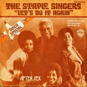 THE STAPLE SINGERS / Let's Do It Again [7INCH]