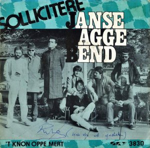 JANSE BAGGE BEND / Sollicitere [7INCH]
