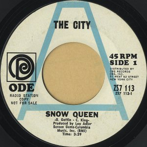THE CITY / Snow Queen [7INCH]