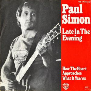 PAUL SIMON / Late In The Evening [7INCH]