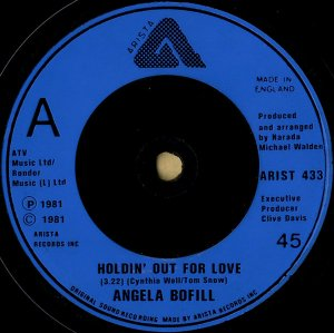 ANGELA BOFILL / Tropical Love [7INCH]