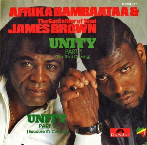 AFRIKA BAMBAATAA & JAMES BROWN / Unity [7INCH]