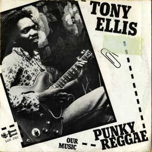 TONY ELLIS / Punky Reggae [7INCH]