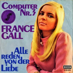 FRANCE GALL / Computer Nr.3 [7INCH]