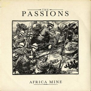 THE PASSIONS / Africa Time [7INCH]