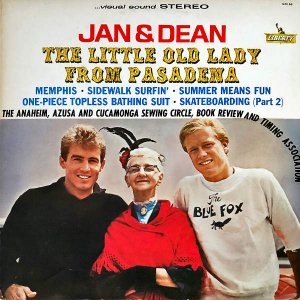 JAN AND DEAN / The Little Old Lady From Pasadena [LP]