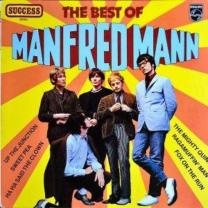 MANFRED MANN / The Best Of Manfred Mann [LP]