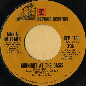 MARIA MULDAUR / Midnight At The Oasis [7INCH]