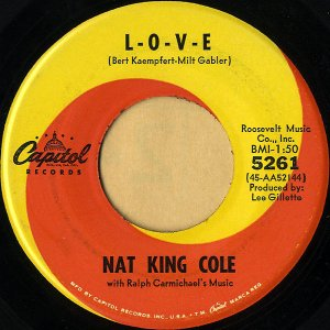 NAT KING COLE / L-o-v-e [7INCH]