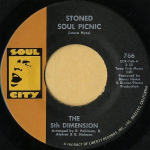 THE 5TH DIMENSION / Stoned Soul Picnic [7INCH]