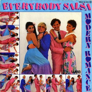 MODERN ROMANCE / Everybody Salsa [7INCH]