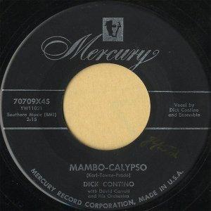 DICK CONTINO / Mambo-Calypso [7INCH]