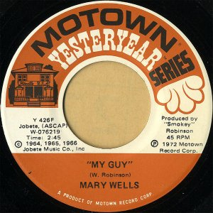 MARY WELLS / My Guy [7INCH]