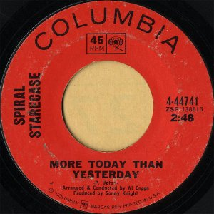 SPIRAL STARECASE / More Today Thann Yesterday [7INCH]