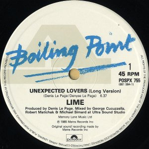 LIME / Unexpected Lovers [12INCH]