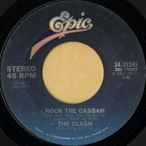 THE CLASH / Rock The Casbah [7INCH]