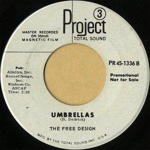 THE FREE DESIGN / Umbrellas [7INCH]