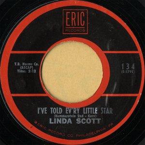 LINDA SCOTT / I've Told Ev'ry Little Star [7INCH]
