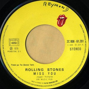 ROLLING STONES / Miss You [7INCH]