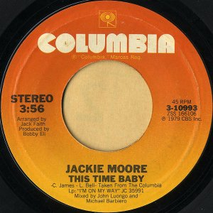 JACKIE MOORE / This Time Baby [7INCH]