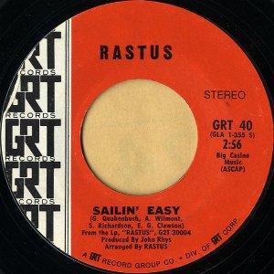RASTUS / Sailin' Easy [7INCH]