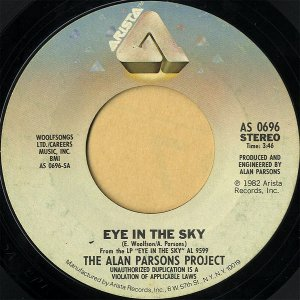 THE ALAN PARSONS PROJECT / Eye In The Sky [7INCH]