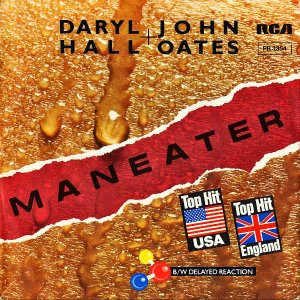 DARYL HALL + JOHN OATES / Maneater [7INCH]