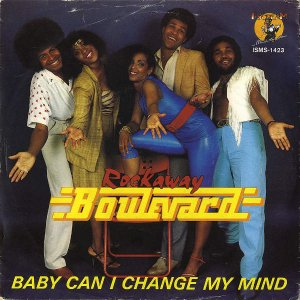 ROCKAWAY BOULEVARD / Baby Can I Change My Mind [7INCH]