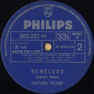 CAETANO VELOSO / Remelexo [7INCH]