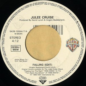 JULEE CRUISE / Falling (Edit) [7INCH]