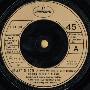 CROWN HEIGHTS AFFAIR / Galaxy Of Love [7INCH]